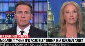 Kellyanne Conway and CNN's Chris Cuomo clash over Russia [Video]
