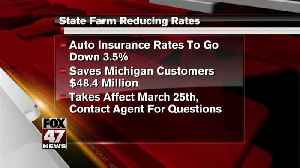 State Farm reducing insurance rates [Video]