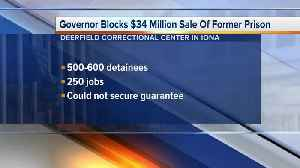 Governor blocks plans for immigration detention center in Michigan [Video]