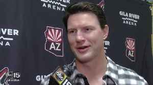 Shane Doan previews his jersey retirement ceremony - ABC15 Sports [Video]