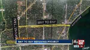 Hillsborough County Commissioners approve repaving project on Bay to Bay Blvd [Video]