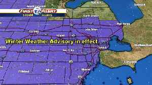 Winter Weather Advisory in effect [Video]