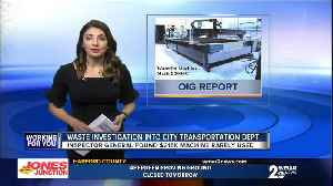 OIG Report: Funds for Baltimore City lead program spent on promotional items, gifts & travel [Video]