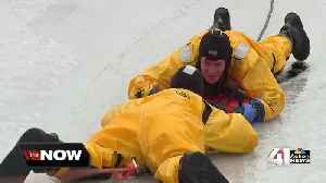 Grandview trains for ice rescues during harsh winter season [Video]