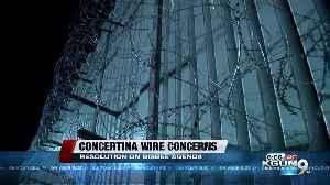 Update: Concertina Wire Bisbee [Video]