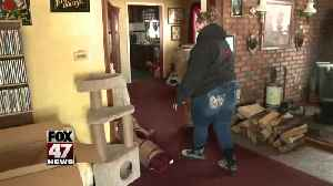 Woman returns home after ice jams: