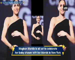 Meghan Markle travels to New York for secret baby shower with friends [Video]