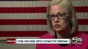 One-on-one with Arizona Senator Kyrsten Sinema [Video]