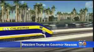 News video: Trump Admin Announces Plan To Cancel $929M For California High-Speed Rail