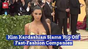 Kim K Does Not Like Fashion Copycats [Video]