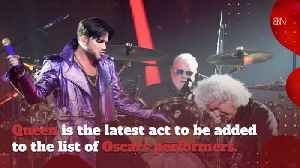 News video: Queen Will Perform At The Oscars