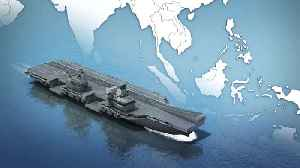 REFILE- UK to send new aircraft carrier to Pacific on first mission [Video]
