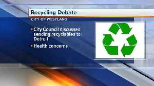 Westland City Council votes no on sending recyclables to Detroit incinerator [Video]