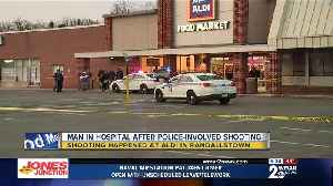 Officer and suspect injured during police-involved shooting [Video]