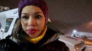 Reporter Update: Snow Covering I-70 In Blanket Of White [Video]