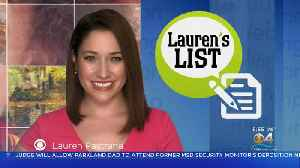 Lauren's List: Your Local Library Has More To Offer Than Just Books [Video]