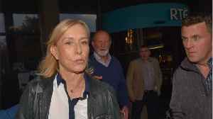 Martina Navratilova Dropped From LGBT Group Over 'Trans' Comment [Video]
