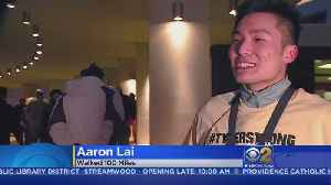 Purdue Student Walks 100 Miles To Raise Money For Cancer Research [Video]