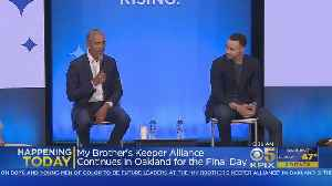 BROTHER'S KEEPER: Second day of famed speakers on tap for Oakland's My Brother's Keeper Alliance event [Video]