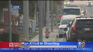 Man Found Dead Near Carson Business [Video]