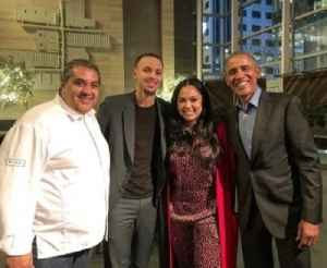 News video: Barack Obama Dined at Ayesha Curry's Restaurant