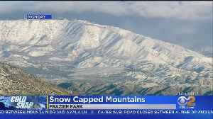 Another Cold Storm, More Snow On The Way For SoCal [Video]