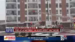 Fire at Apartment in Northwest Baltimore [Video]