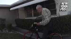 Police surprise 80-year-old theft victim with new bike [Video]