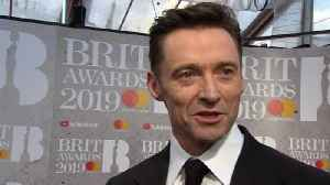 What's Hugh Jackman doing at the Brits? [Video]