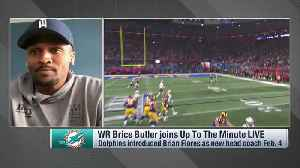 Miami Dolphins wide receiver Brice Butler on Fins' QB situation: 'I don't think anybody knows what's going to happen' [Video]