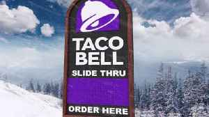 Taco Bell to Open the 'World's First Slide-Thru Take-Out Window' [Video]