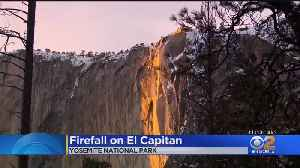 'Firefall' In Yosemite Expected To Last Just A Few More Days [Video]