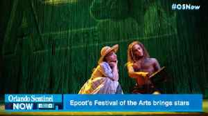 Epcot's Festival of the Arts brings Broadway stars [Video]