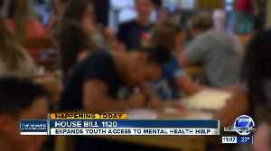Colorado legislature considers bill that would expand youth mental health resources [Video]