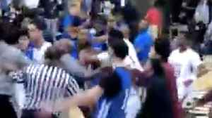 Lamelo Ball Spire FIGHT Breaks Out & CLEARS BENCH After Crazy Dunks! [Video]