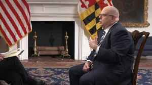 MD gov not ruling out 2020 primary run: CBS [Video]