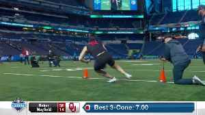 Baker Mayfield's full 2018 NFL Scouting Combine workout [Video]