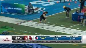 Baker Mayfield 2018 NFL Scouting Combine workout [Video]