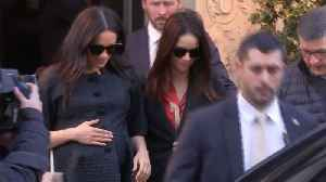 Meghan Markle's NYC Baby Shower [Video]