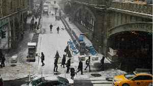 Snow, Sleet Threaten U.S. East Coast [Video]