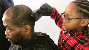 8-Year-Old Philadelphia Girl Is One of the World's Youngest Barbers [Video]
