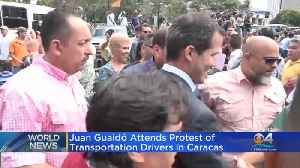 Guaidó Attends Protest In Venezuela [Video]
