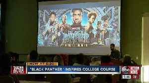 Pasco-Hernando State College professors bring 'Black Panther' to the classroom [Video]