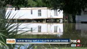 News video: Survey: Climate change concerns most people in Southwest Florida