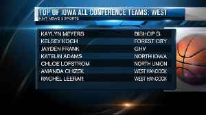Top of Iowa Conference names girl's basketball all-conference teams [Video]