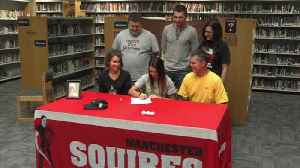 Manchester's Kelsey Eichenauer Signs with Valpo [Video]