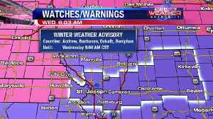 Snow is moving out, slick roads [Video]