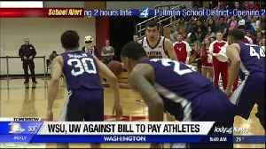 Bill considered to pay college athletes in Washington [Video]