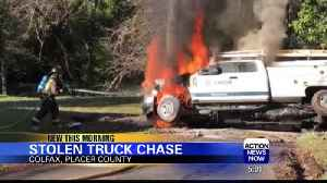 Placer County car chase ends in crash, arrest [Video]