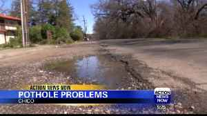 Drivers voice concerns over potholes in Chico streets [Video]